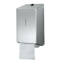 Rvs dispenser wc-papier met dop